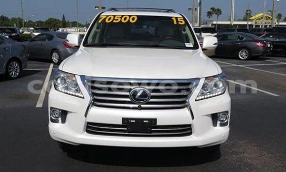 Acheter Occasion Voiture Lexus LX Blanc à Dassa-Zoumé au Benin