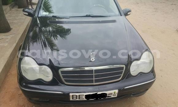 Acheter Occasion Voiture Mercedes‒Benz C-Class Noir à Cotonou au Benin