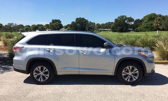 Acheter Occasion Voiture Toyota Highlander Gris à Kandi au Benin