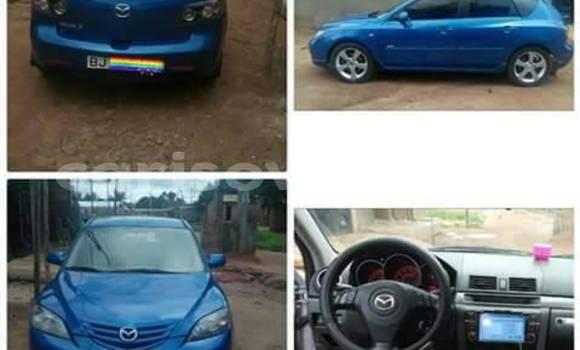 Acheter Occasion Voiture Mazda 3 Bleu à Abomey Calavi au Benin