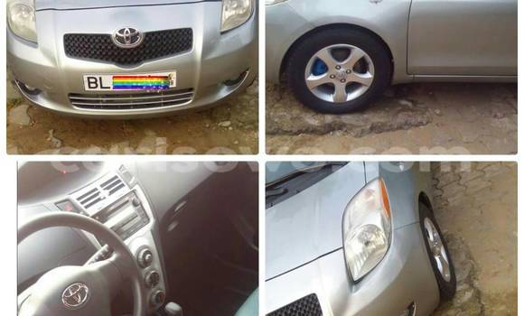 Acheter Occasion Voiture Toyota Yaris Gris à Cotonou au Benin