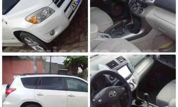 Acheter Occasion Voiture Toyota RAV4 Blanc à Cotonou au Benin