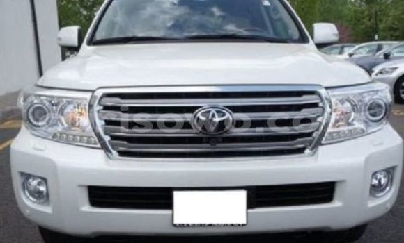 Acheter Occasion Voiture Toyota Land Cruiser Blanc à Porto Novo au Benin