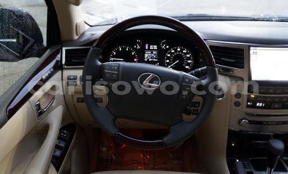 Acheter Occasion Voiture Lexus LX Noir à Cotonou, Benin