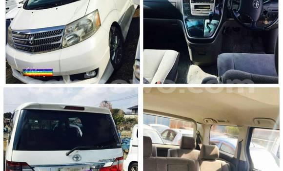 Acheter Occasion Voiture Toyota Alphard Blanc à Cotonou au Benin