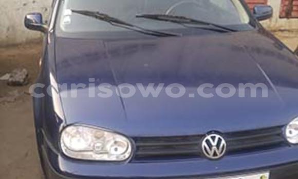 Acheter Occasion Voiture Volkswagen Golf Bleu à Abomey Calavi au Benin