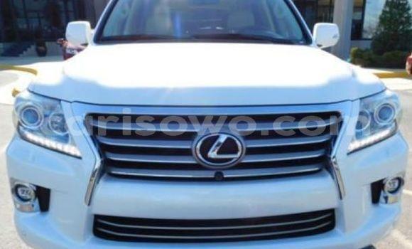 Acheter Occasion Voiture Lexus LX Blanc à Cotonou au Benin