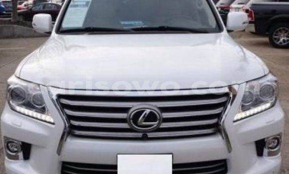 Acheter Occasions Voiture Lexus LX Blanc à Cotonou au Benin