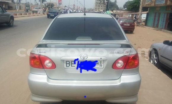 Acheter Occasion Voiture Toyota Corolla Gris à Cotonou au Benin