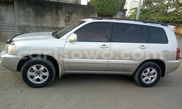 Acheter Occasion Voiture Toyota Highlander Gris à Cotonou au Benin