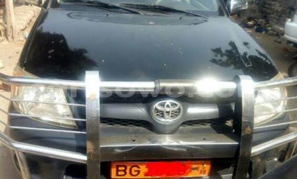 Acheter Occasion Voiture Toyota Hilux Noir à Cotonou au Benin