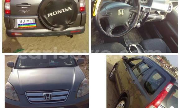 Acheter Occasion Voiture Honda CR-V Gris à Cotonou au Benin