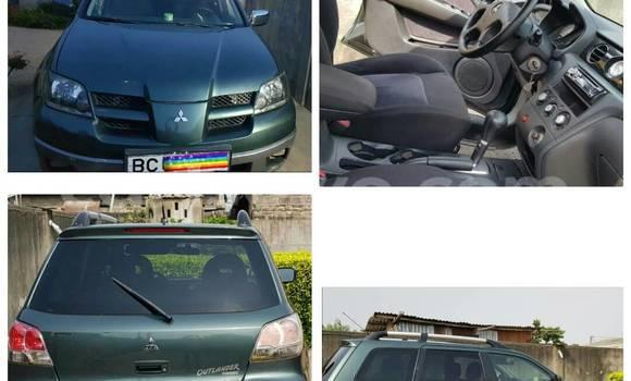 Acheter Occasion Voiture Mitsubishi Outlander Gris à Cotonou au Benin