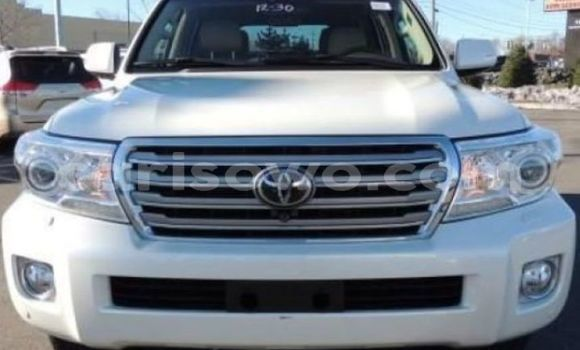 Acheter Occasion Voiture Toyota Land Cruiser Blanc à Cotonou, Benin