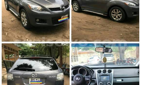 Acheter Occasion Voiture Mazda CX-7 Gris à Cotonou au Benin