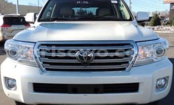 Acheter Occasion Voiture Toyota Land Cruiser Blanc à Cotonou au Benin