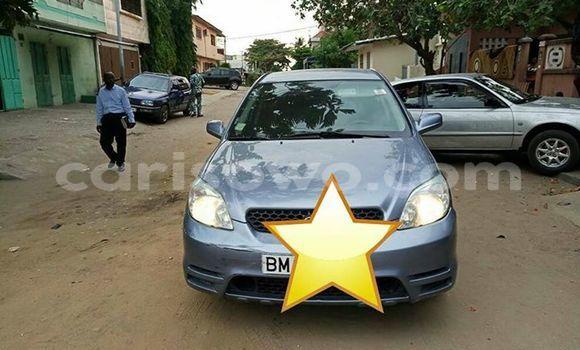 Acheter Occasion Voiture Toyota Matrix Autre à Cotonou au Benin