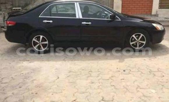 Acheter Occasions Voiture Honda Accord Noir à Cotonou, Benin