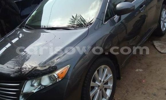 Acheter Occasion Voiture Toyota Venza Gris à Cotonou au Benin