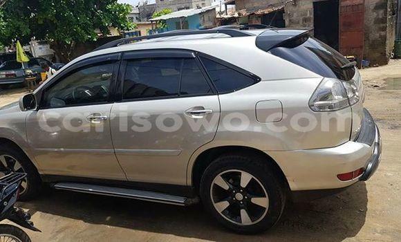 Acheter Occasion Voiture Lexus RX 350 Gris à Cotonou, Benin