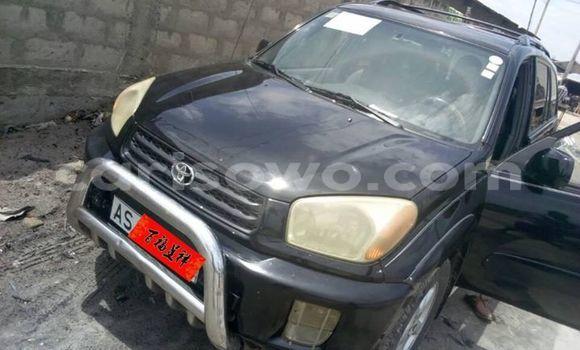 Sayi Na hannu Toyota RAV4 Black Mota in Cotonou a Benin
