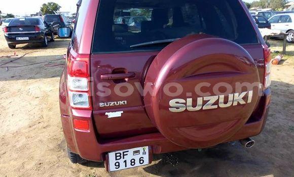 Acheter Occasions Voiture Suzuki Grand Vitara Rouge à Cotonou au Benin