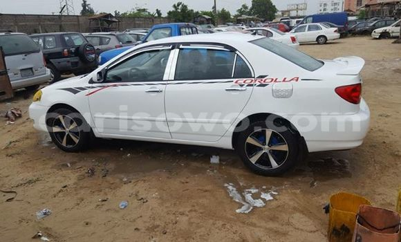 Acheter Occasions Voiture Toyota Corolla Blanc à Cotonou au Benin