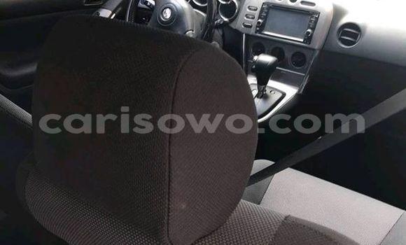 Acheter Occasion Voiture Toyota Matrix Gris à Cotonou au Benin