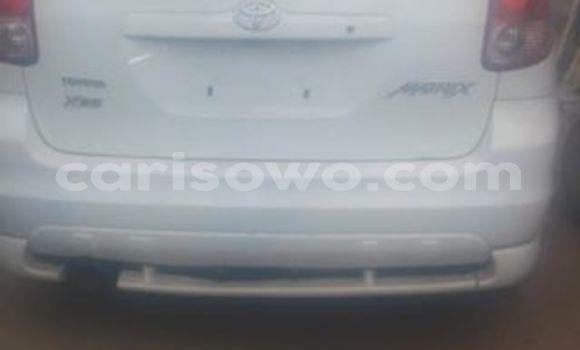 Acheter Occasions Voiture Toyota Matrix Blanc à Cotonou au Benin