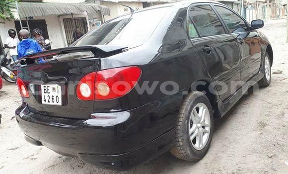 Acheter Occasions Voiture Toyota Corolla Noir à Cotonou au Benin