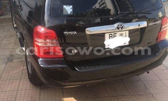 Acheter Occasion Voiture Toyota Highlander Noir à Cotonou, Benin