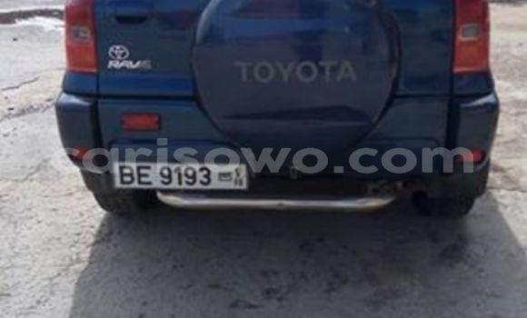 Sayi Na hannu Toyota RAV4 Blue Mota in Cotonou a Benin