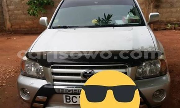 Sayi Imported Toyota Highlander Sauran Mota in Cotonou a Benin