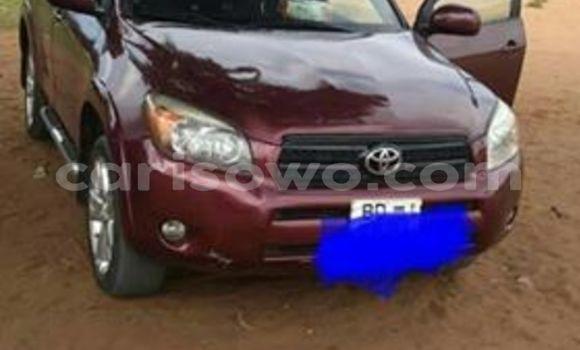 Sayi Imported Toyota RAV4 Red Mota in Cotonou a Benin
