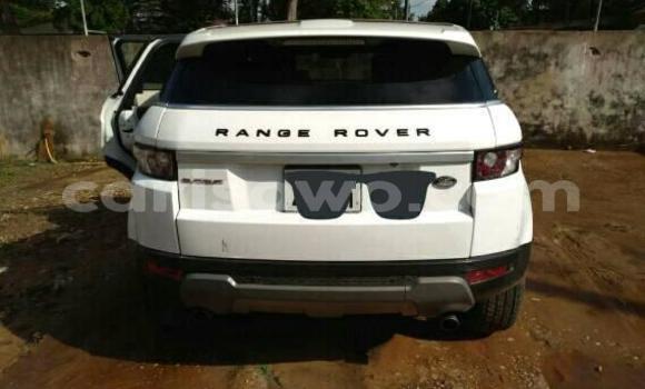 Acheter Occasion Voiture Land Rover Range Rover Evoque Blanc à Cotonou, Benin
