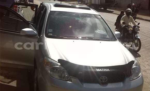 Acheter Occasions Voiture Toyota Matrix Gris à Cotonou au Benin