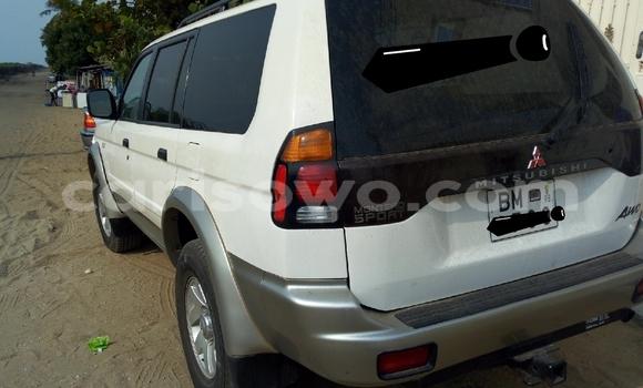 Acheter Occasion Voiture Mitsubishi Montero Sport Blanc à Cotonou, Benin