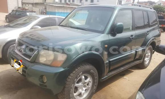 Acheter Occasion Voiture Mitsubishi Montero Vert à Cotonou, Benin