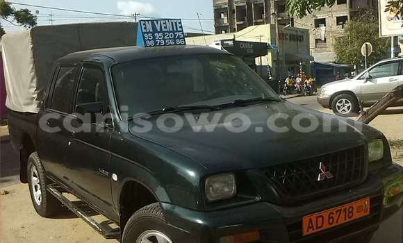 Acheter Occasion Voiture Mitsubishi Pajero Vert à Cotonou au Benin