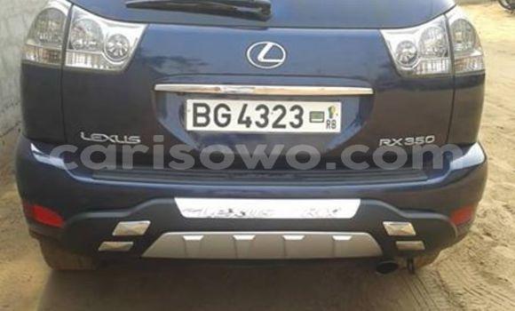 Acheter Occasion Voiture Lexus RX 350 Bleu à Cotonou, Benin