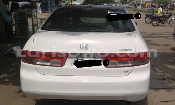 Buy Used Honda Accord White Car in Cotonou in Benign
