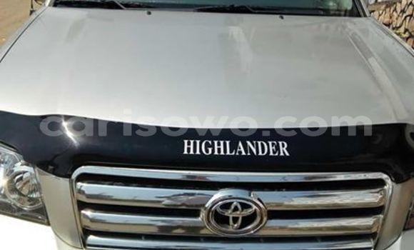 Acheter Occasion Voiture Toyota Highlander Gris à Cotonou, Benin