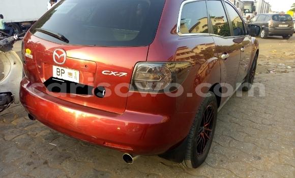 Acheter Occasion Voiture Mazda CX–7 Rouge à Cotonou, Benin