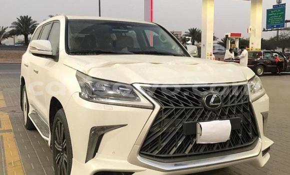 Acheter Occasion Voiture Lexus LX 570 Blanc à Allada, Benin