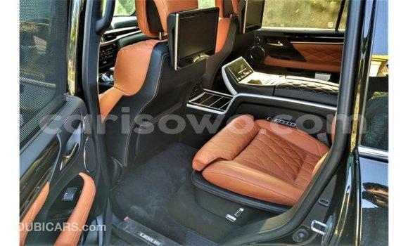 Acheter Importé Voiture Lexus LX Noir à Import - Dubai, Benin