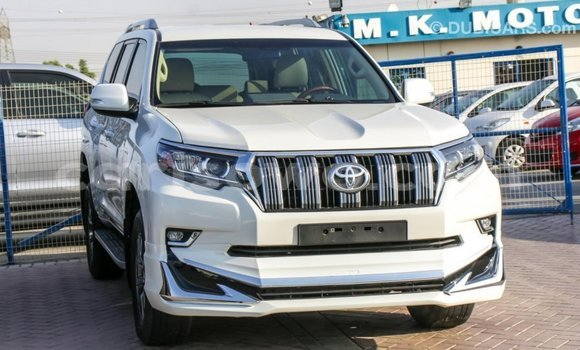 Acheter Importé Voiture Toyota Prado Blanc à Import - Dubai, Benin