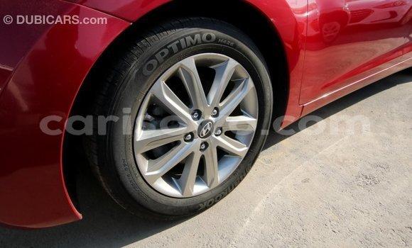 Acheter Importé Voiture Hyundai Elantra Rouge à Import - Dubai, Benin