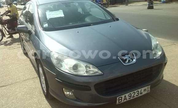Acheter Occasion Voiture Peugeot 407 Noir à Savalou, Benin