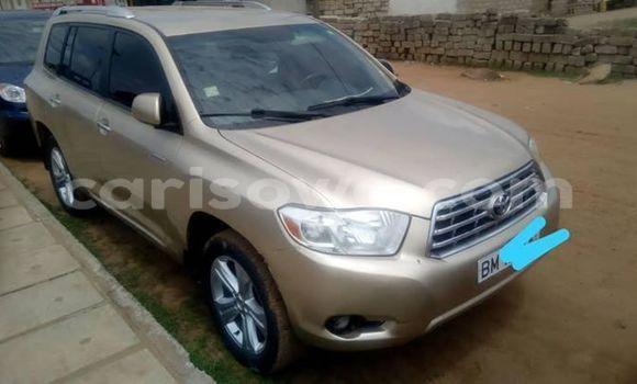 Acheter Occasion Voiture Toyota Highlander Beige à Cotonou, Benin
