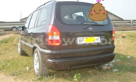 Acheter Occasion Voiture Opel Zafira Gris à Cotonou, Benin